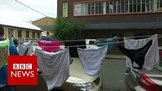 South Africa  Using dirty knickers to tackle rape   BBC News