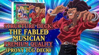 Structure Deck: Johnny Steps - The Fabled Musician (Premium Quality) | Proxy / Orica TCG Deck