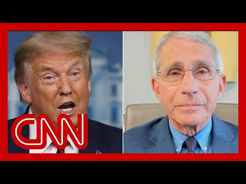 Fauci: I was not invited to Trump's coronavirus briefing