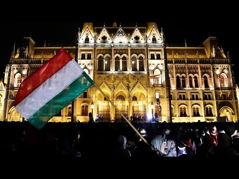 Thousands march in Budapest to protest Hungary's 'slave law'