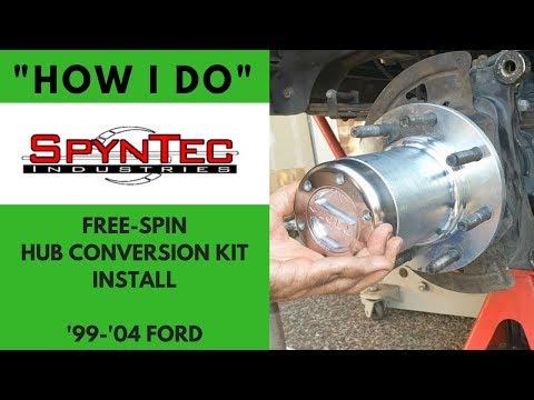 """Spyntec Hub Conversion Install '99-'04 Ford - """"How I Do"""""""