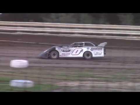Hummingbird Speedway (9-15-18): BWP Bats Super Late Model Heat Race #4