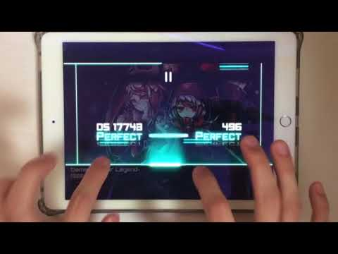 【Lunatic Sounds × Dynamix】Dement ~After Legend~(HARD) All PERFECT OMEGA Rank【disappearing character】