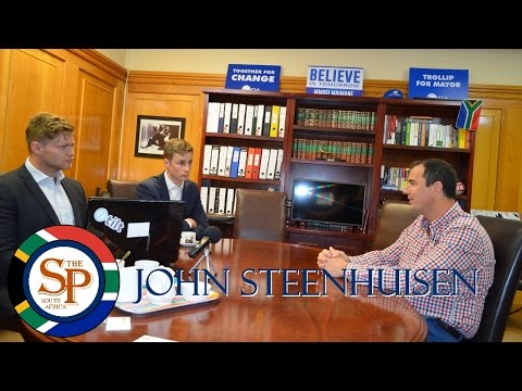 Post-Election interview with John Steenhuisen (DA Chief Whip)