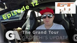homepage tile video photo for GA Update EP:12 - The Grand Tour, Met Jeremey Clarkson, Tesla...