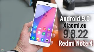 Xiaomi.eu 9.8.22 MIUI 10 Android Pie Based ROM For Redmi Note 4