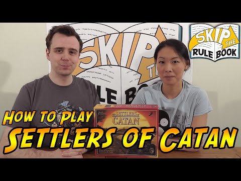 The Settlers of Catan (aka Catan) - How to Play