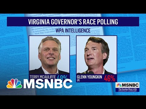 Polls Show Candidates Are Neck-and-Neck for Virginia Gov's Race