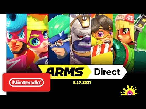 arms - 0 - Nintendo Unveils New Details About ARMS, Trailer For Splatoon 2