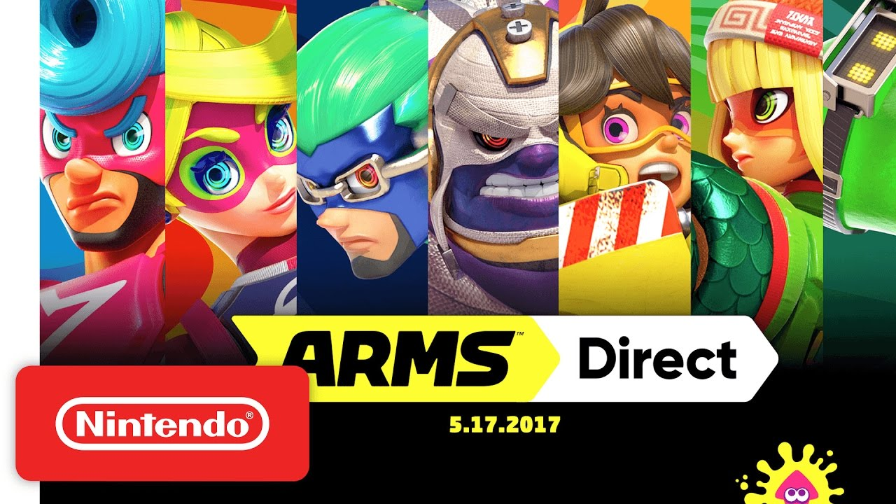 Here's everything you need to know about ARMS! ARMS launches exclusively for Nintendo Switch on June 16. Check out more information here: http://arms.nintend...