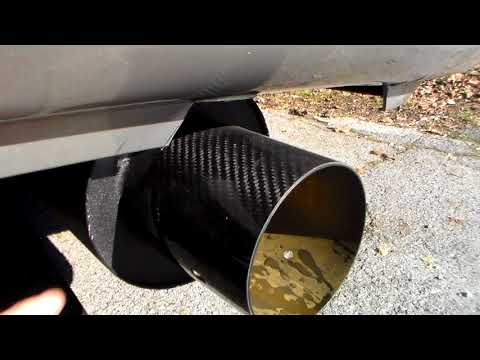 2003-2007 Toyota Corolla Bolt On Axle Back Muffler Review