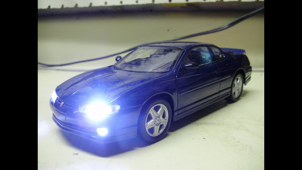 Chevy Monte Carlo 2015 >> Custom 1:24 scale 2004 CHEVROLET MONTE CARLO SS diecast w