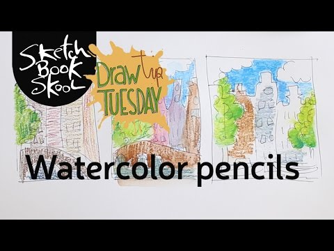 Draw Tip Tuesday: Watercolor Pencils