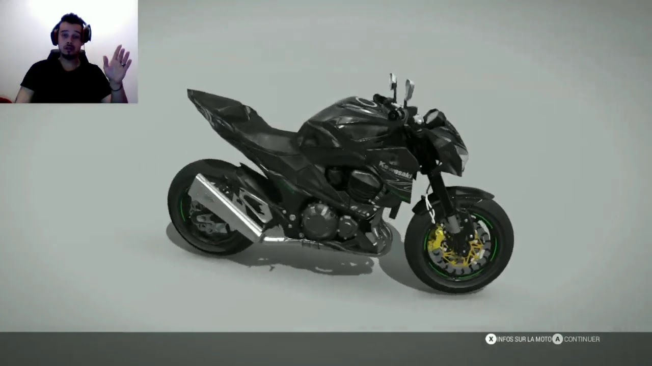 Ride 2 gameplay (fr): Test Kawasaki Z800 2015