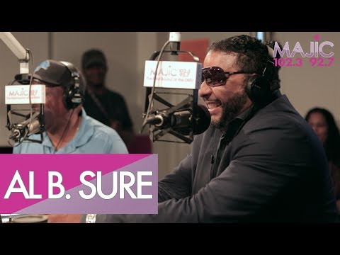Al B. Sure Goes Down Memory Lane with Donnie Simpson