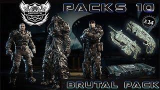 """Gears of War 4 l Open eSports Packs 10 l """" La mejor suerte """" l Todos los Personajes"""" l 1080p Hd"""