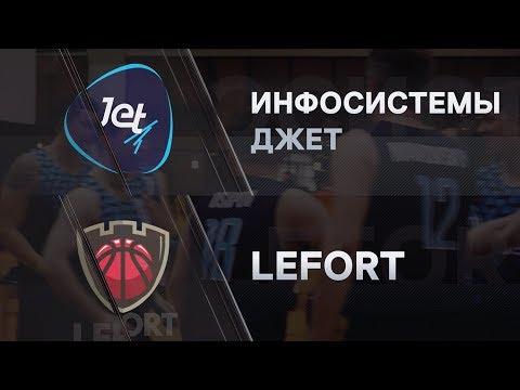 Первая лига КЛБ. 17.02.2019. Инфосистемы Джет vs. Lefort