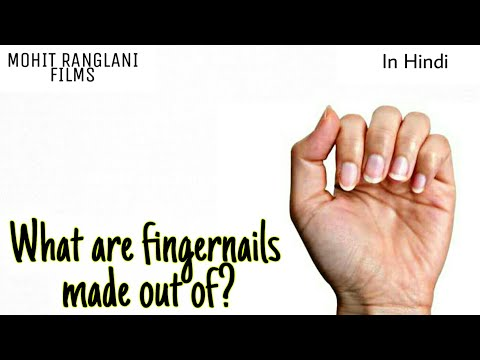 Wo kya hai jisse Nakhun bnte hai? | What are fingernails made out of| Why answer to everything hindi
