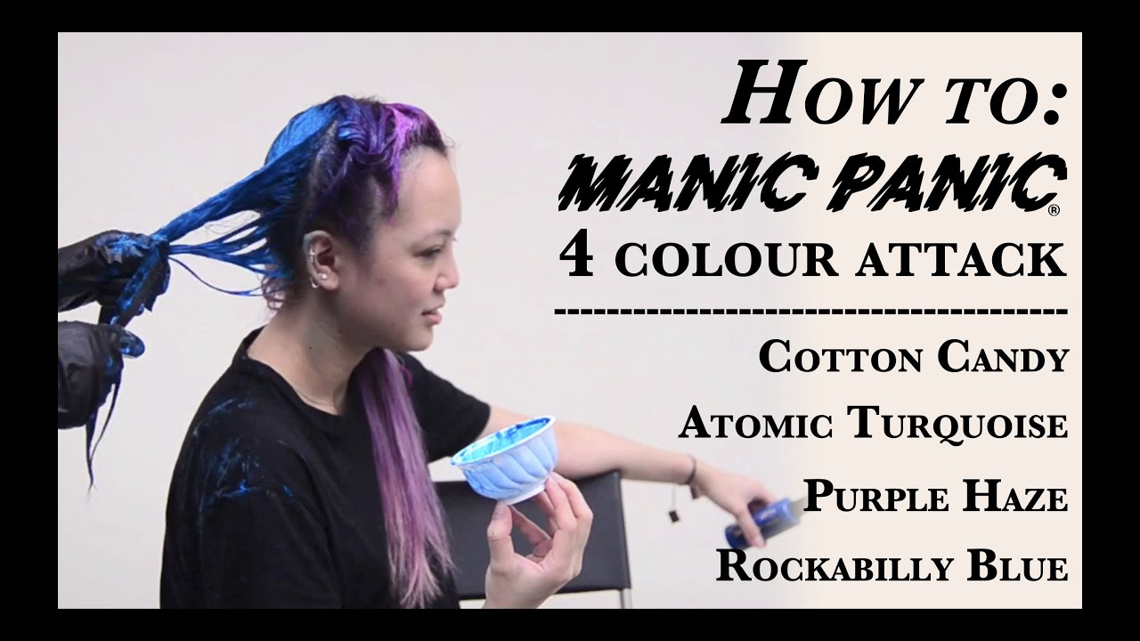 How To Manic Panic 4 Colour Attack Hd Youtube