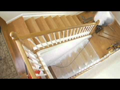 How To Install Wood On Stairs Starecasing Installation