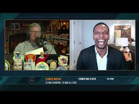 Chris Bosh on the Dan Patrick Show Full Interview | 6/2/21