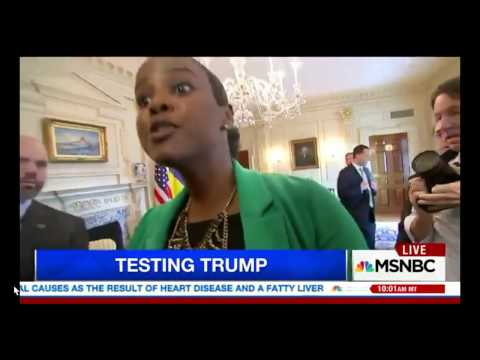 MSNBC Leftist Andrea Mitchell PHYSICALLY Removed After Shouting at Tillerson