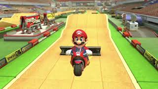 MK8DX Highlight Reel: Excitebike Arena - Mario