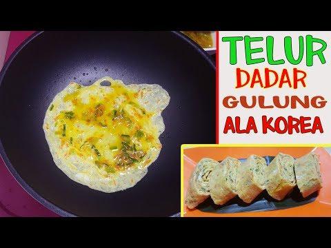 resep-masak-telur-gulung-ala-korea-|-korean-rolled-egg-omelette