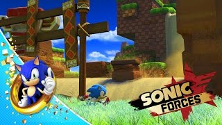 Sonic Forces - Classic Sonic Green Hill Gameplay
