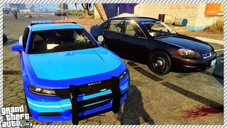 ESCAPING FROM POLICE | FUNNY ONLINE ROLE-PLAY (GTA 5 ONLINE ROLE-PLAY)