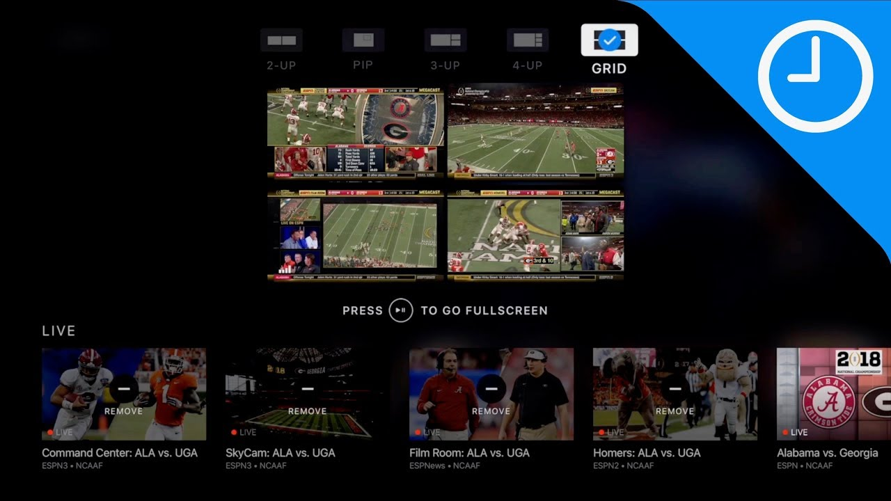 Hands-on: ESPN MultiCast on Apple TV lets you view up to