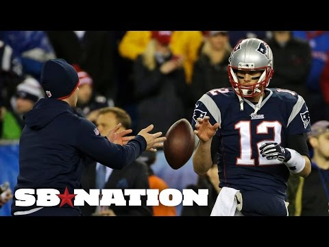 Tom Brady says he did not alter game balls before AFC Championship