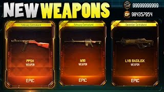 NEW WEAPONS - BLACK OPS 3 SUPPLY DROP OPENING!! (M16 & PPSH BO3 DLC GUNS)