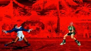 [TAS] Iori Orochi VS Leona Orochi (KoF '97)