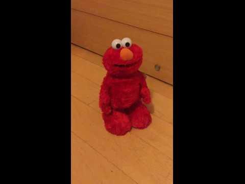 美國直送 芝麻街 Tickle Me Elmo X TMX Elmo 艾摩大笑發聲翻滾毛絨玩偶