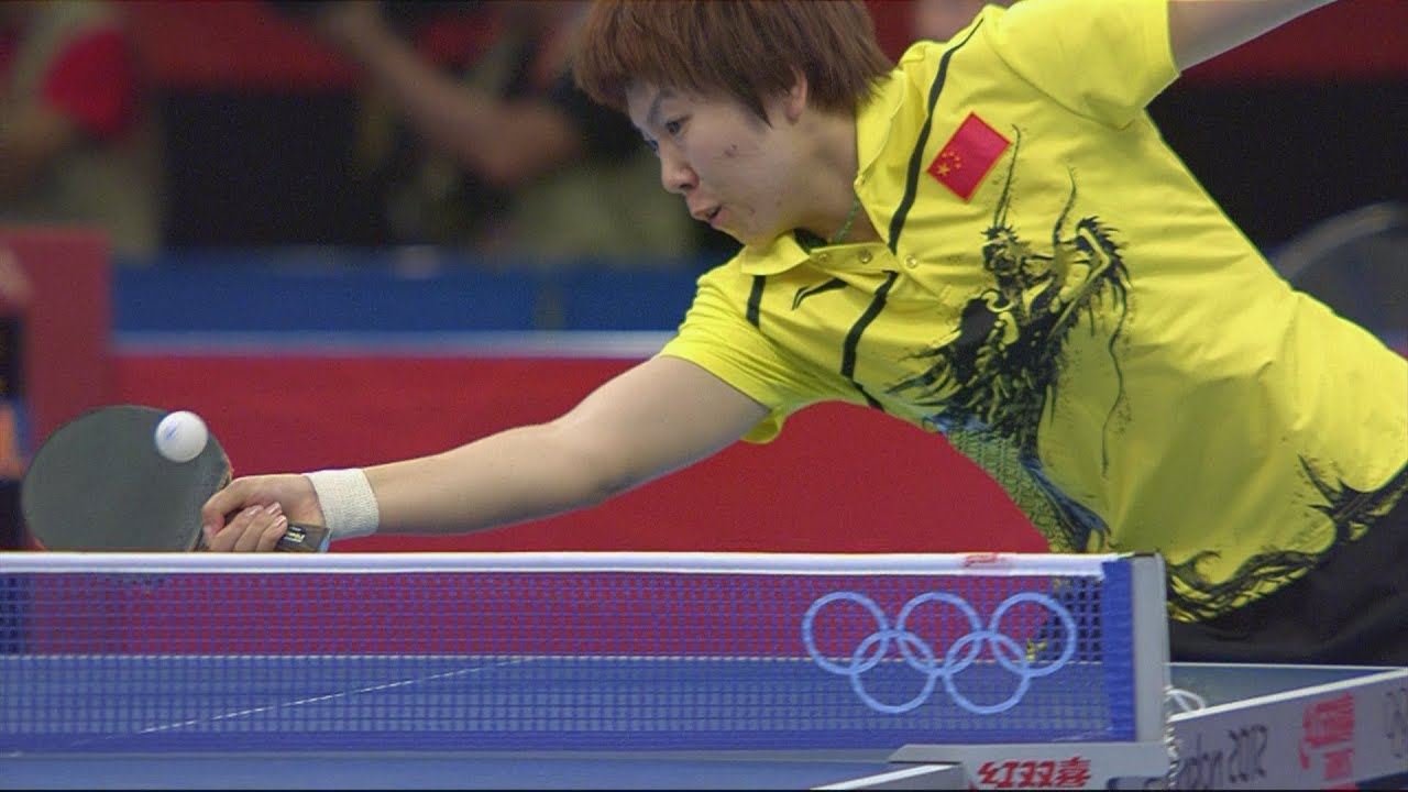 Park KOR V Li CHN Womens Table Tennis 4th Round Replay