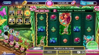 Pop slots 💕 Enchanted Wall!! Someone Winning 54.5 Billion chips!!🤩
