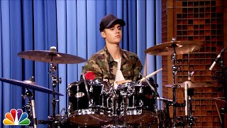 �������� ���� Justin Bieber and Questlove Drum-Off ������