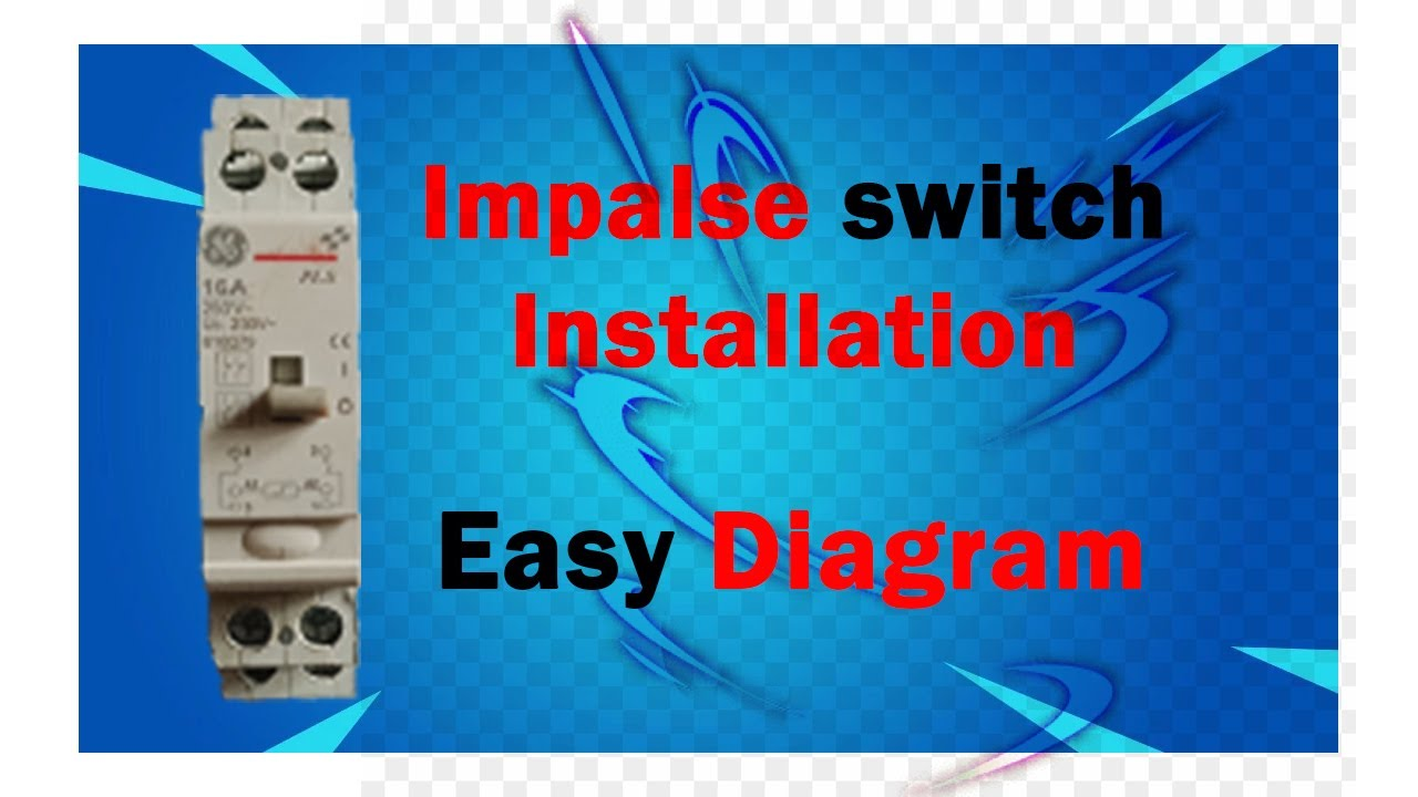 How To Make Impulse Switch Wiring Diagram