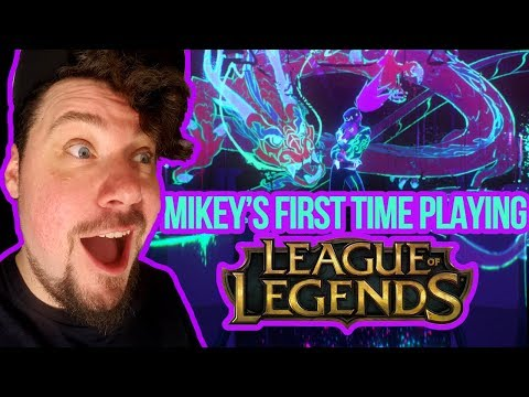 Mikey's Basement LIVE! My First Time Playing League of Legends [KPOP]
