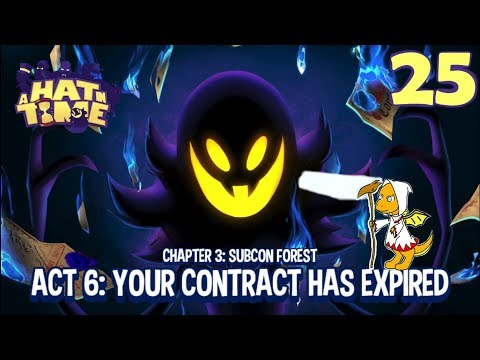 Cendril Plays - A Hat In Time (Blind) - Ep.25: My Kind Of Wordplay