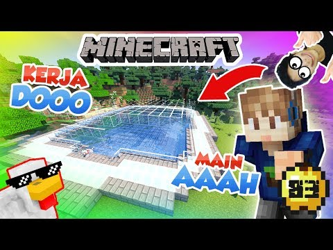 TEMPAT ICE SKATING SIKOCAK - MINECRAFT SURVIVAL INDONESIA