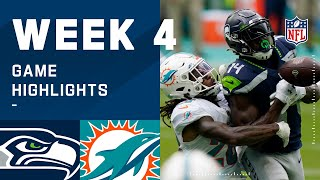Seahawks vs. Dolphins Week 4 Highlights | NFL 2020