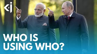 RUSSIA and INDIA - WHO'S using WHO? - KJ REPORTS
