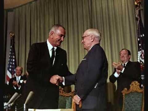 LYNDON JOHNSON TAPES: Harry Truman over for Lunch