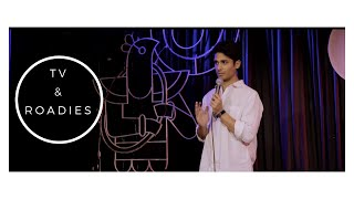 TV AND ROADIES | Stand Up Comedy By Govind Meno...