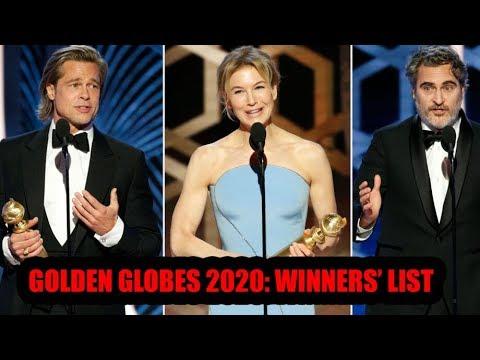 Golden Globes Award 2020: Complete list of winners