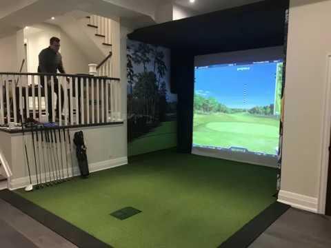 InHome Golf Sim Dec 18