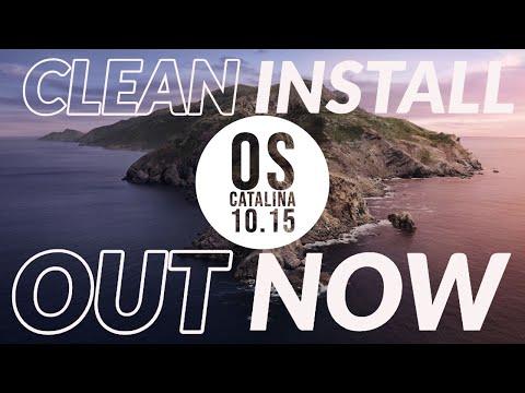 CLEAN INSTALL Mac OS Catalina 10.15 GUIDE! 4K