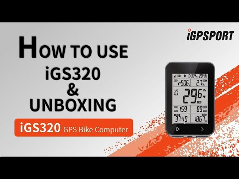 iGS320 Product unboxing & display